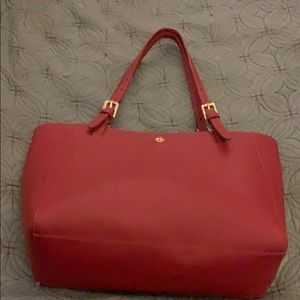 Tory Burch Small Red Satchel